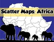 Scatter Maps: Africa