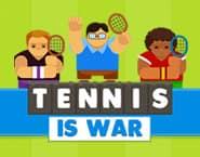 Tennis heißt Krieg