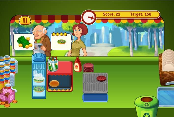 Burger Express Spiel